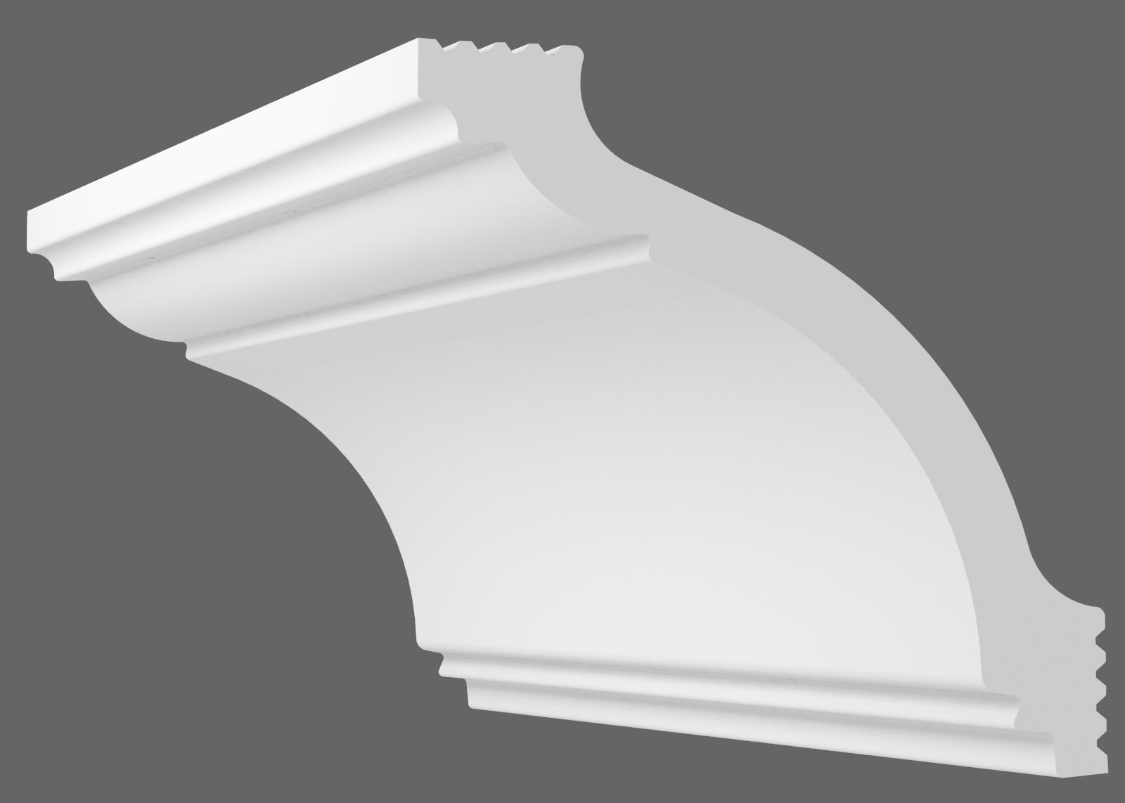 Потолочный плинтус А-110 (Размер: 80х75мм)