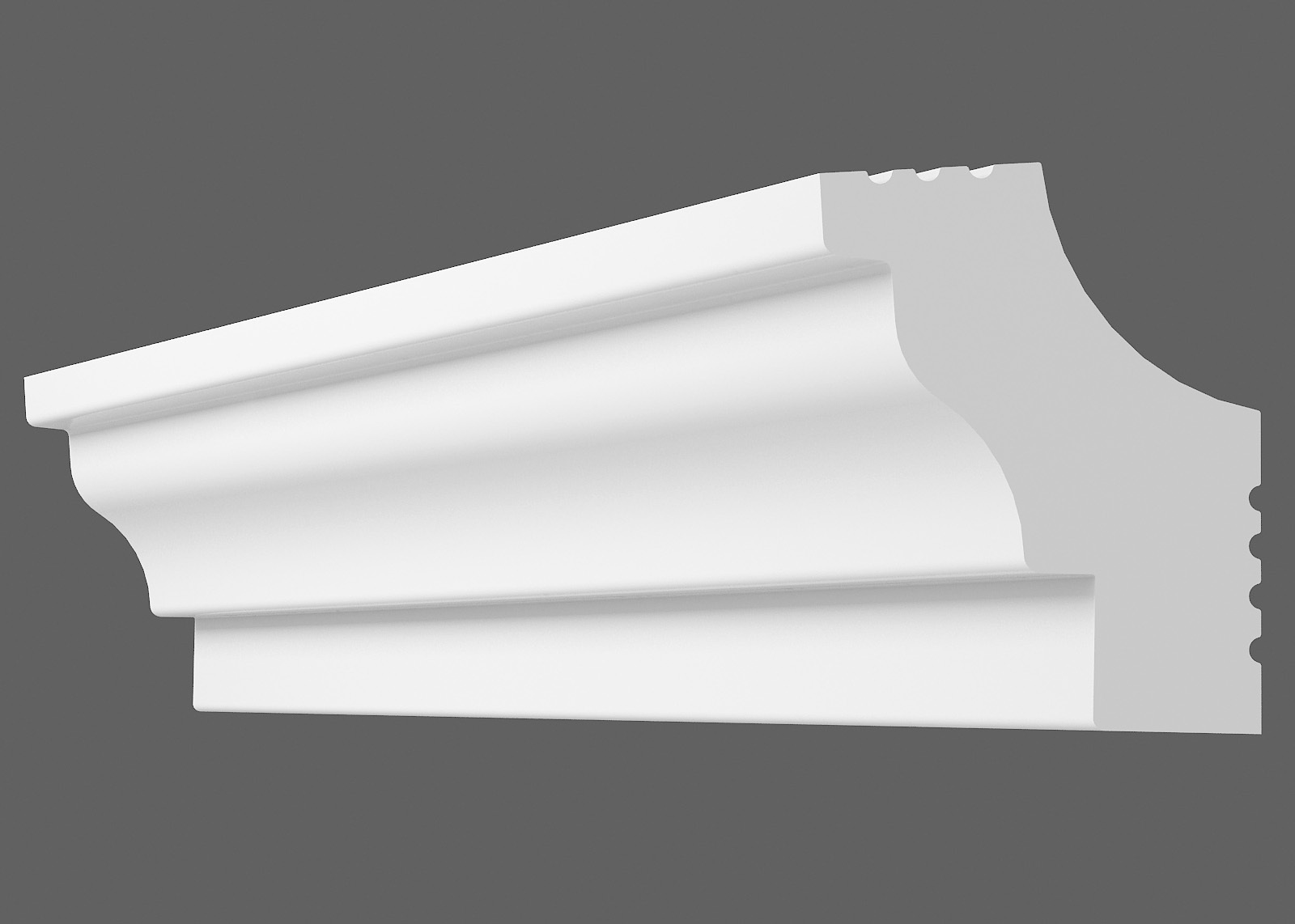 Потолочный плинтус C-30 (Размер:20х25мм)