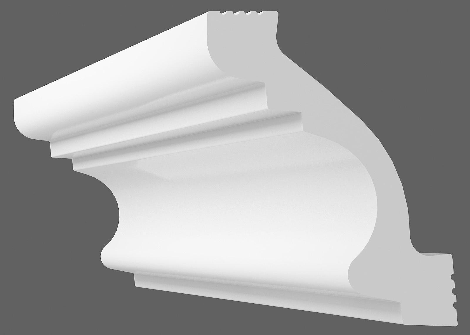 Потолочный плинтус C-50 (Размер:50х40мм)