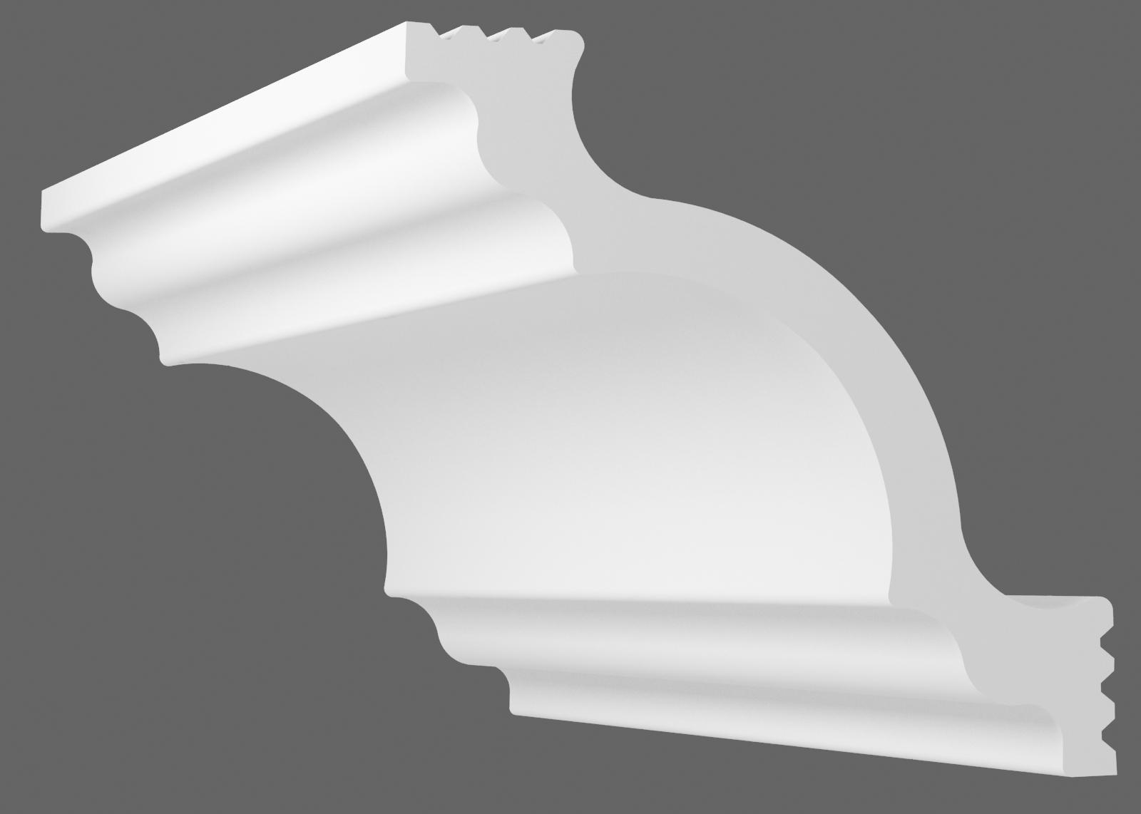 Потолочный плинтус К-120 (Размер:85х85мм)
