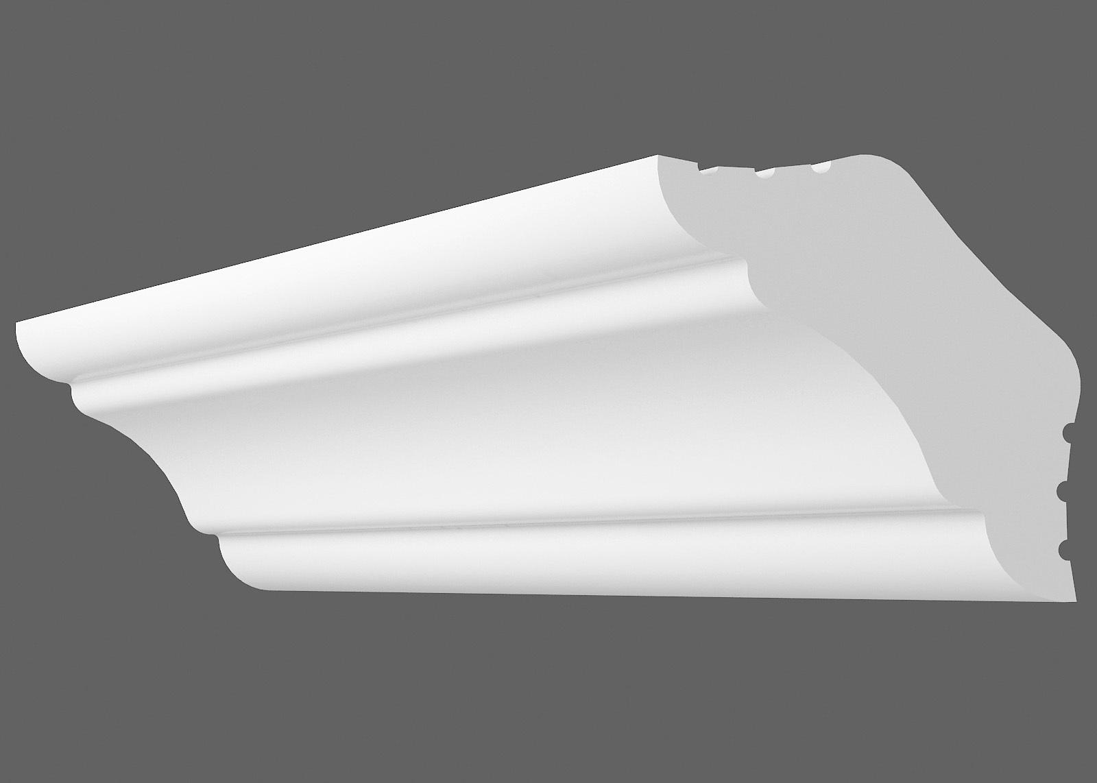 Потолочный плинтус К-30 (Размер:25х25мм)