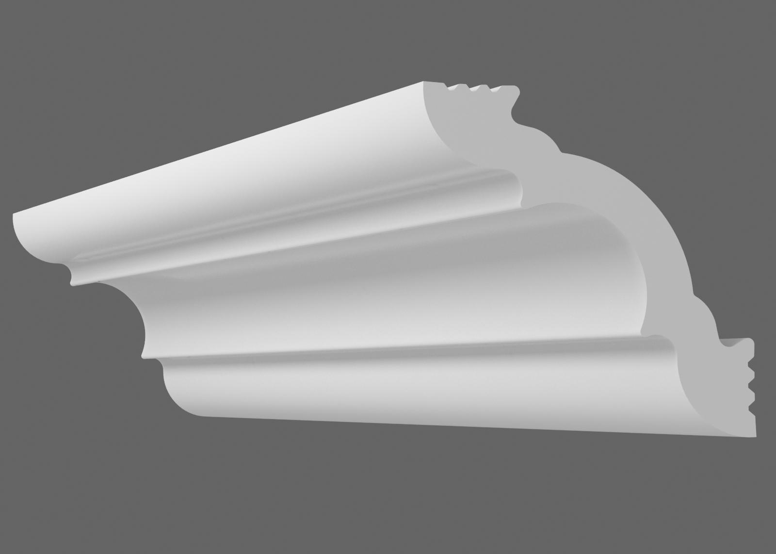 Потолочный плинтус K-40 (Размер:30х30мм)