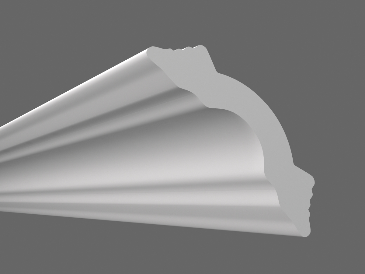 Потолочный плинтус К-50 (Размер:50х50мм)