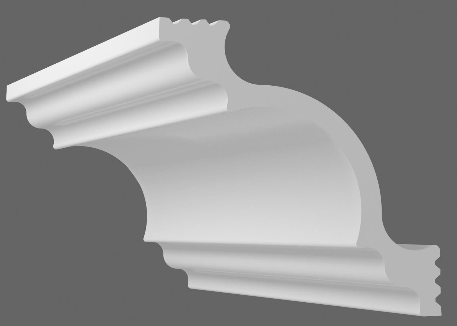 Потолочный плинтус К-80 (Размер:65х65мм)