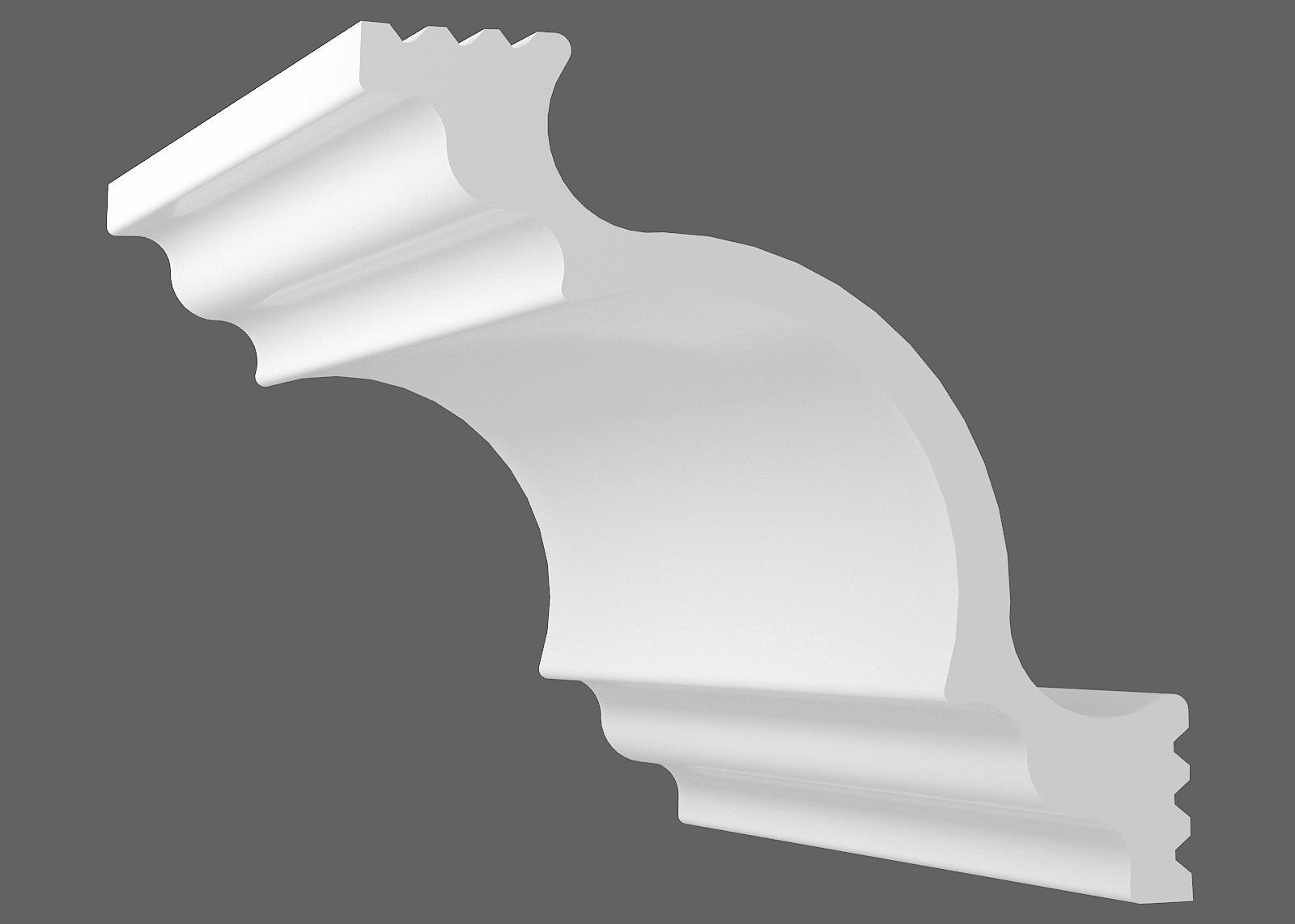 Потолочный плинтус К-150 (Размер:105х105мм)