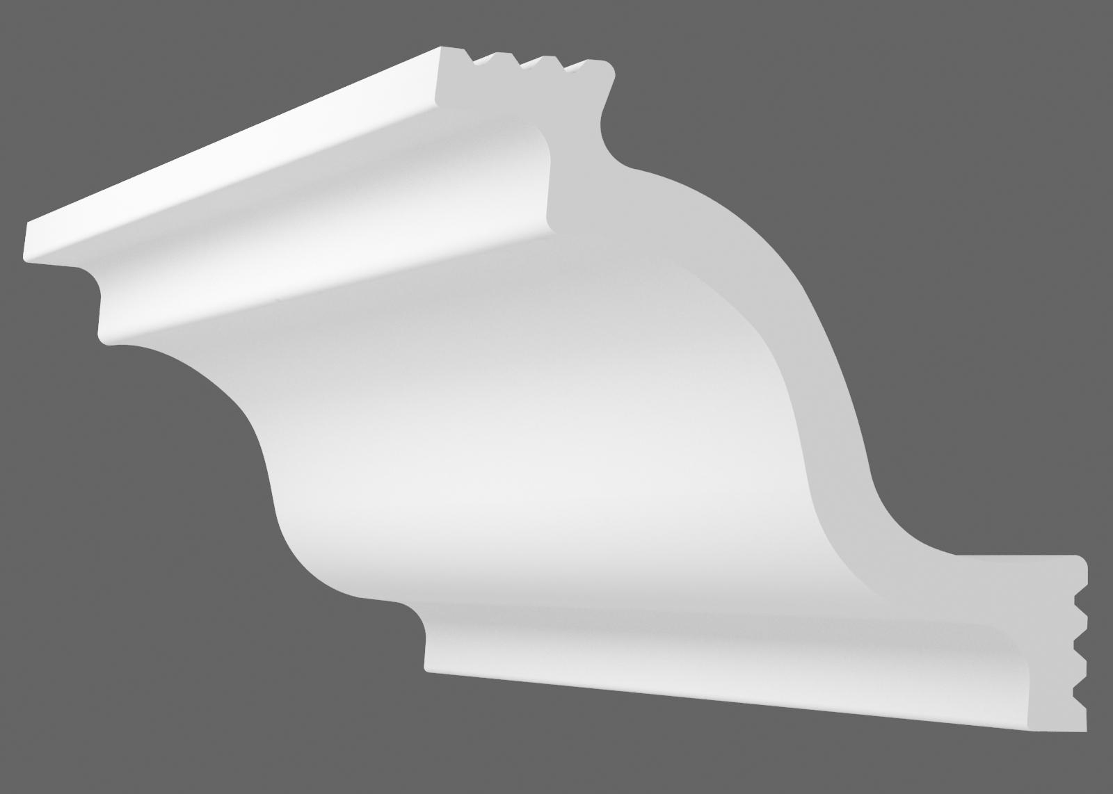 Потолочный плинтус M-95 (Размер:65х70мм)