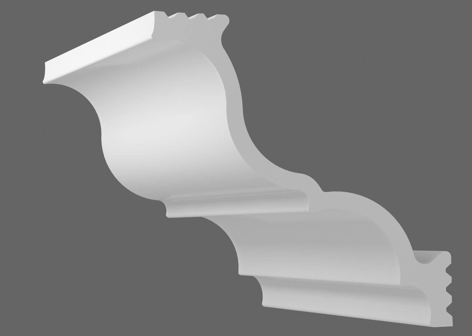 Потолочный плинтус S-150 (Размер:105х105мм)