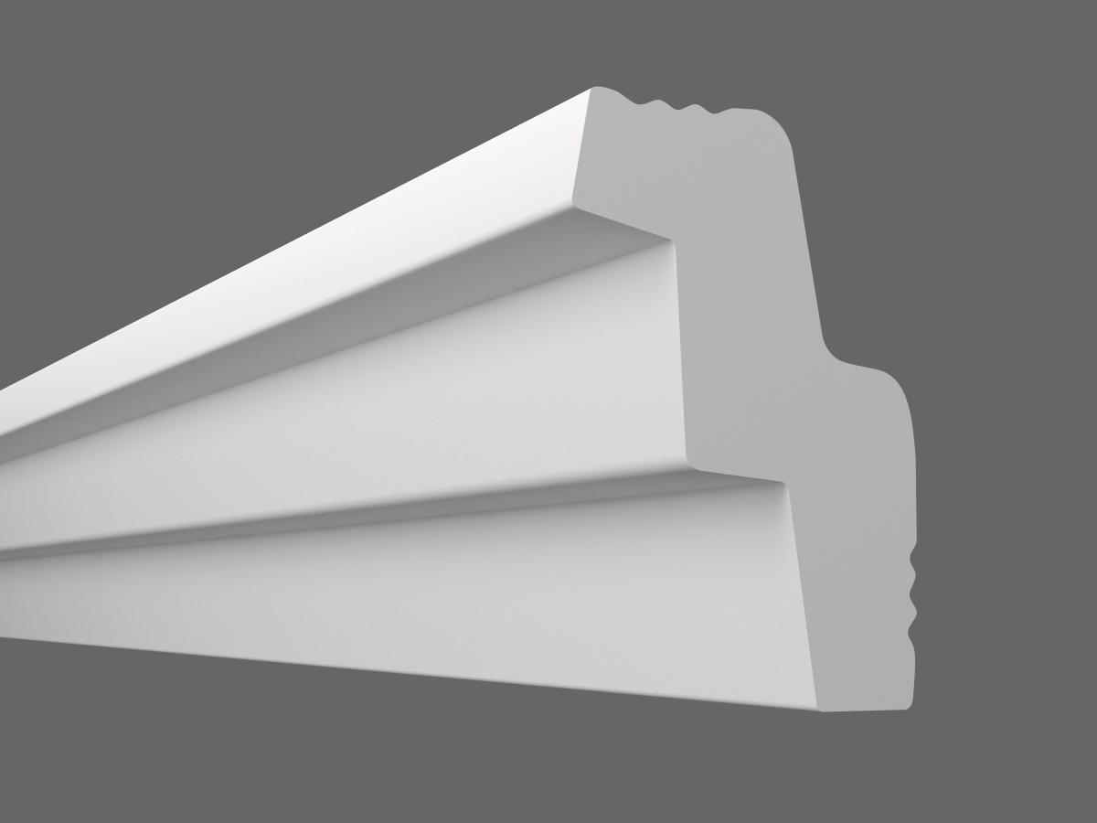 Потолочный плинтус S-30 (Размер:15х25мм)