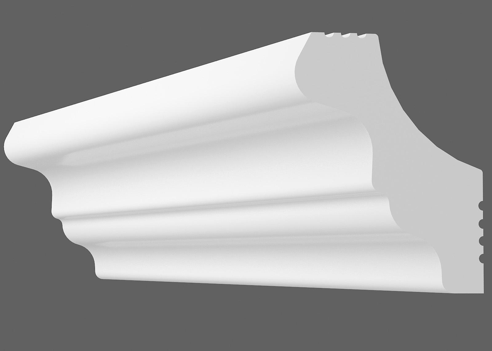 Потолочный плинтус S-35 (Размер:25х25мм)