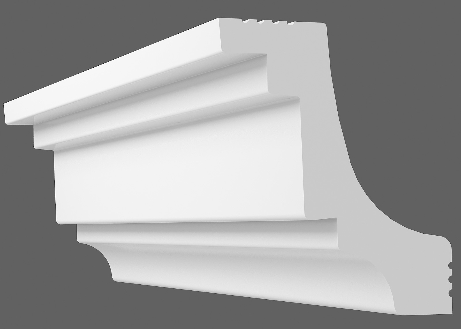 Потолочный плинтус S-45 (Размер:40х40мм)